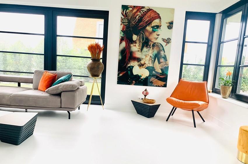 Wall art geeft uw woonruimte een unieke uitstraling