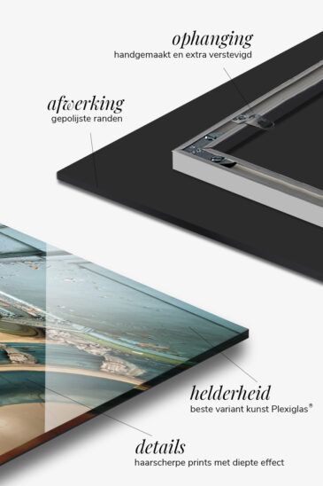 fotokunst op plexiglas